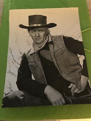 John Wayne Vintage Press Photos X3