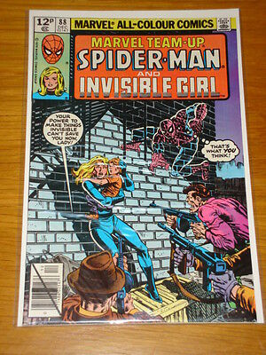 Marvel Team Up #88 Comic Near Mint Condition Spiderman December 1979