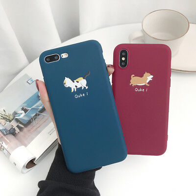 Funny Cute Pattern Ultra Thin Soft Silicone Case for iPhone XS Max XR 67 8 Cover