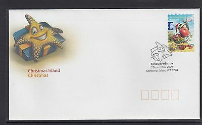 CHRISTMAS ISLAND 2009 CHRISTMAS set on FDC - CRABS Marine life / bird Wildlife.