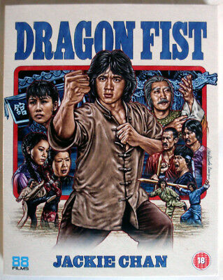 Dragon Fist - Blu-Ray - Jackie Chan - 1979 - Region B - 88 Films Asia