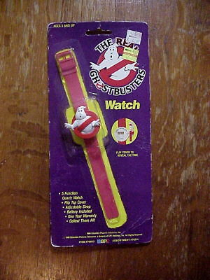 THE REAL GHOSTBUSTERS WATCH Hope #70022 Unused On Original BLISTER PACK 1984