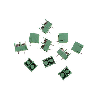 New 10pcs KF7.62-2P 2pin 7.62mm Pitch Screw Terminal Block Good 2018、MAE