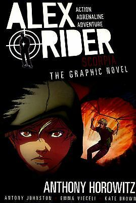Scorpia Graphic Novel (Alex Rider) by Anthony Horowitz