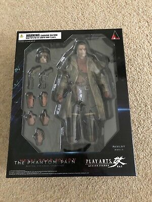 Play Arts Kai Metal Gear Solid The Phantom Pain - Ocelot - Brand New And Sealed