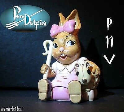 NEW Pendelfin Mary with lamb figurine rabbit Bunny w/ Box