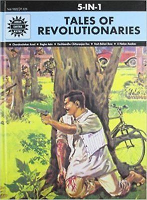 Amar Chitra Katha Tales of Revolutionaries 5 in 1 By Anant Pai