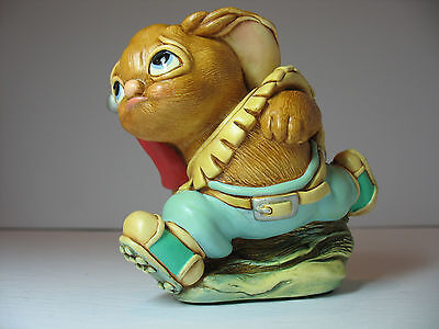 NEW Pendelfin  Blazer in Blue Figurine rabbit Bunny with Box