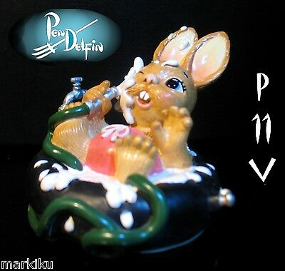NEW Pendelfin Jose bather on tube figurine rabbit Bunny w/ Box