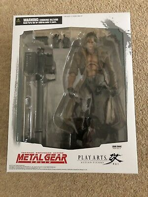 Play Arts Kai Metal Gear Solid - Liquid Snake - Brand New And Sealed- Rare