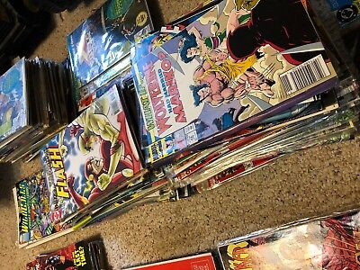 Huge Comic Book Lot 800 Marvel Dc Indy Superman Batman X-Men No Duplicates