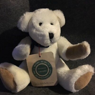 Boyds Bear WARREN White Archive Collection Investment Collectibles Blue 1995 Ret