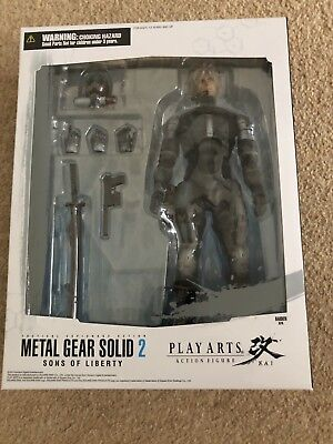 Play Arts Kai Metal Gear Solid 2 Sons Of Liberty - Raiden - Brand New And Sealed