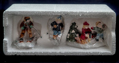 D56 Sv Nib Skaters And Skiers New In Boxes Intro 1994  Ret 2000