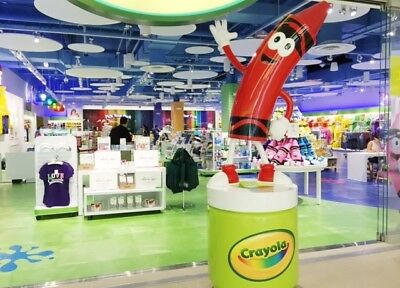 4 Tickets to Crayola Experience Mall Of America $83.96 VALUE