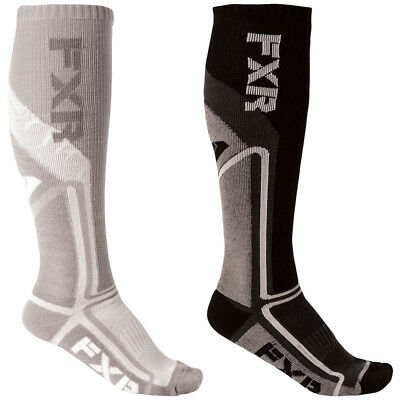 FXR Mission Performance Sock Authentic 13in From Heel Merino MX Snowmobile