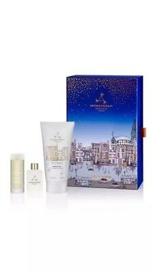 Aromatherapy Associates London Time to Unwind 3 piece Destress Kit New