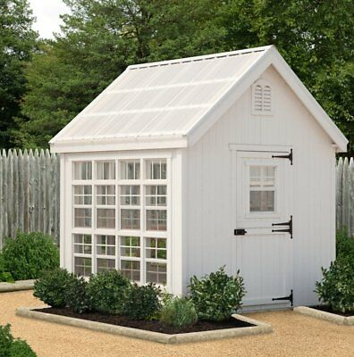 Little Cottage Company Colonial Gable 10 Ft. W x 16 Ft. D Greenhouse