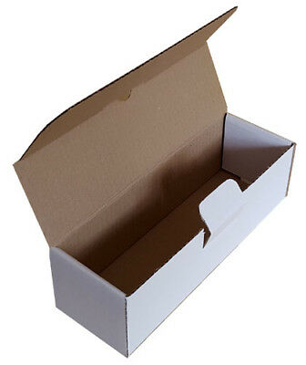 Small Parcel White Die Cut Postal Box Shipping Boxes for 1000ml 1L Bottles