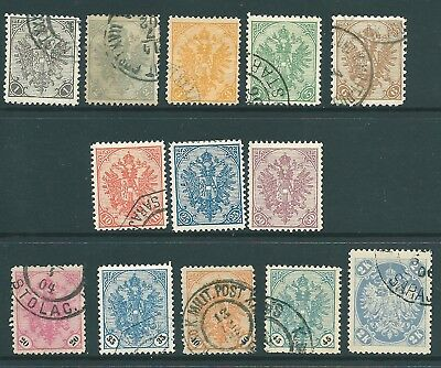 BOSNIA 1900-01 mint/used stamp collection