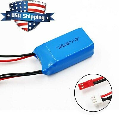 7.4V 1500mAh 2S LiPO Battery for Wltoys A949 A959 A969 A979 K929