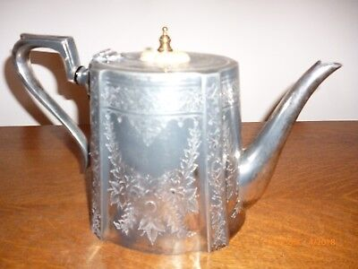 Vintage/antique Silverplated Teapot