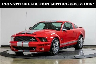 2009 Ford Mustang  2009 Ford Mustang Shelby GT500KR 1 Owner Clean 3k Original Miles