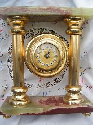 Italian.. classical design, mantle clock,working order.