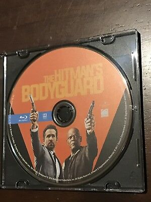 The Hitman's Bodyguard (Blu-ray Disc Only, No Digital or DvD, 2017) Never Used!