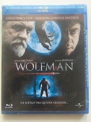 Wolfman BLU RAY NEUF SOUS BLISTER Benicio Del Toro - Anthony Hopkins