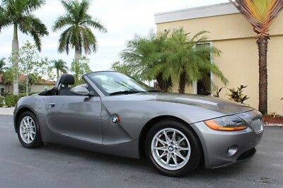 2003 BMW Z4 2.5i 2003 BMW Z4 CONVERTIBLE POWER TOP 53K LEATHER 5 SPEED MANUAL 239-693-4000