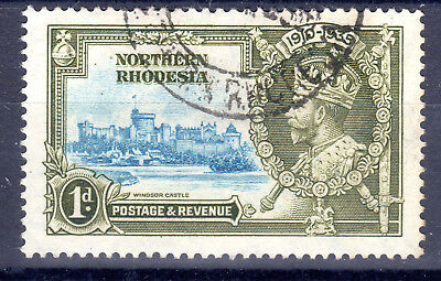 Northern Rhodesia KGV 1d SG18 fine used 1935 [N2811]