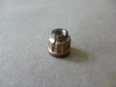 #10-32 12 POINT HEX HEAD A286 SS AIRCRAFT LOCK NUT, LEFT HAND THREADS , 1200 Deg