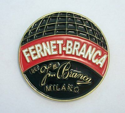 Fernet Branca 170th Anniversary 2015 Challenge Coin - Fernet Coin Collectible