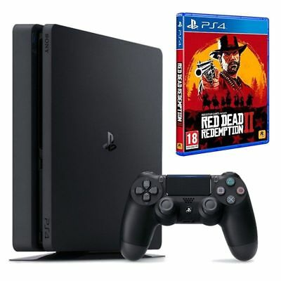 Consola Sony Ps4 Slim 1Tb + Red Dead Redemption 2