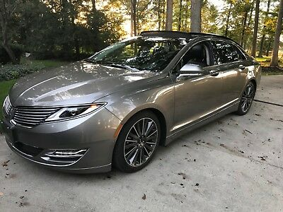 2016 Lincoln MKZ/Zephyr EVERY OPTION 2016 Lincoln MKZ AWD 3.7L