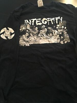 Integrity Longsleeve M Charles Manson One Life Crew Cro Mags All Out War clevo