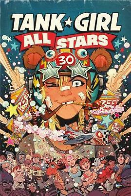 Tank Girl: Tank Girl All Stars by Alan Martin Hardcover Book Free Shipping!