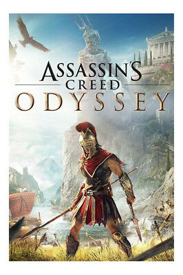 Assassin's Creed: Odyssey - Standard Edition (Sony PlayStation 4, 2018)