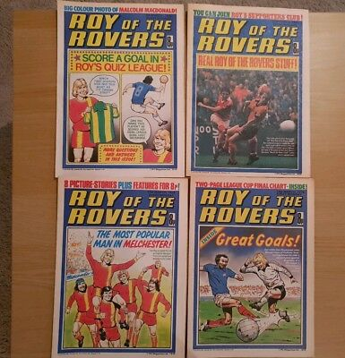 Roy of the Rovers Comics - March 1978