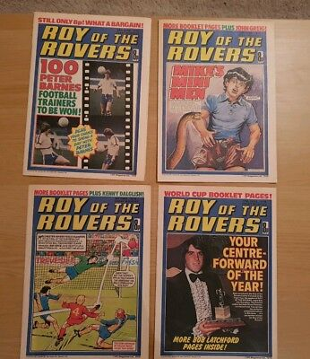 Roy of the Rovers Comics - June 1978