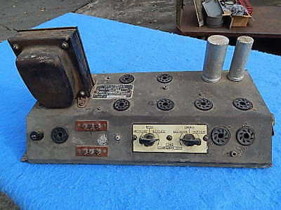 Wurlitzer 1100 1080A Amplifier 506 # 2113855 with bottom cover