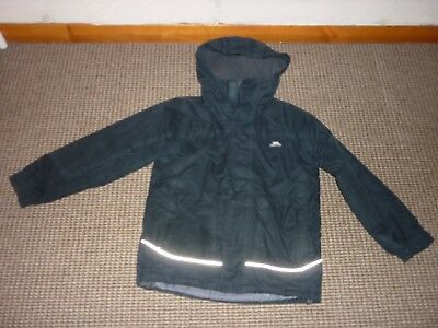 Trespass Fleece Lined Boys Coat age 7-8yrs