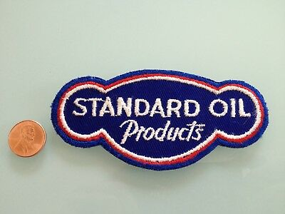 Vintage STANDARD Oil Products PATCH unused RARE sew on Gas Station gasoline