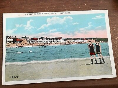 COTTAGES & Beach SOUND VIEW OLD LYME CT PC  1920'S