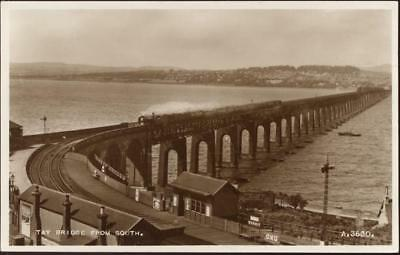 20029400 - Tay Bridge from South. England.,Valentine & Sons Ltd. Dundee and