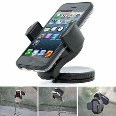 360 Rotatable Car Windscreen Suction Cup Mount Mobile Phone Holder Bracket AW