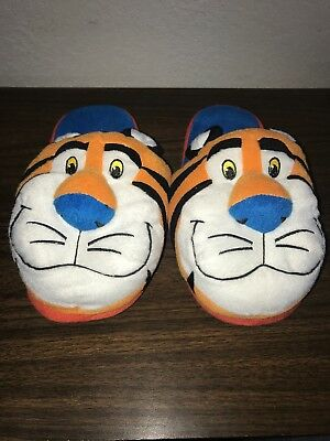 Kellogs Tony The Tiger Frosted Flakes Slippers