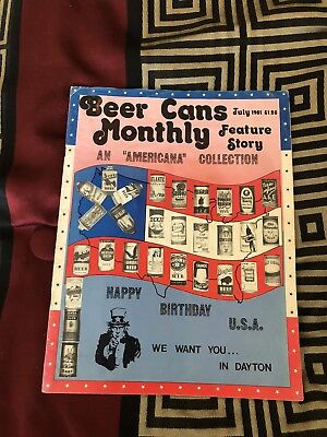 Vintage Beer Can Monthly Magazine Lot