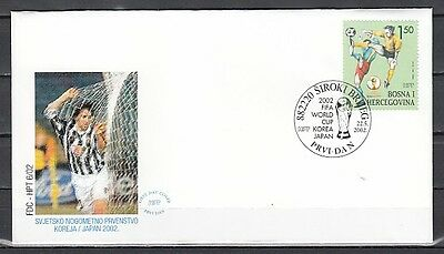 Bosnia, Croat, Scott cat. 85. World Cup Soccer issue. First day cover